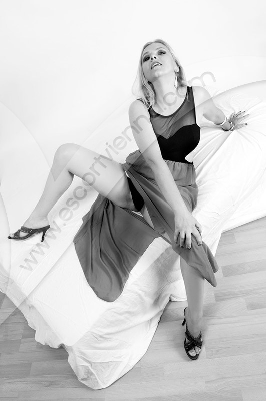 Blonde MILF escort in Vienna