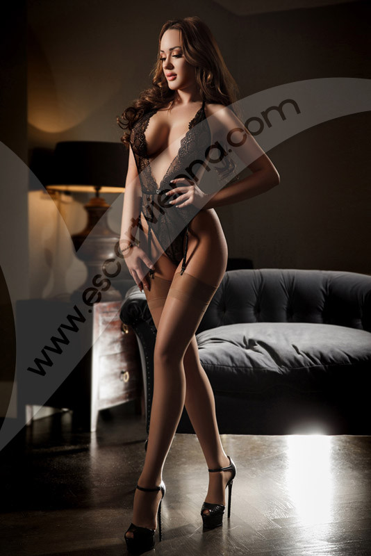 Sexy busty escort girl, Ariana